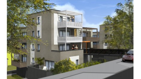 Appartement neuf Les Terrasses du Parc éco-habitat à Montigny-Lès-Metz