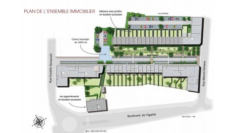 immobilier basse consommation à Tourcoing