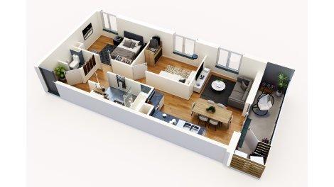 logement neuf à Metz