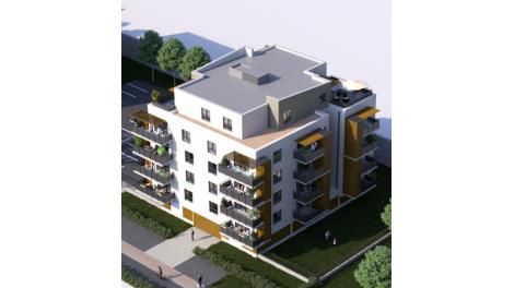 Appartement neuf Le Clos Malraux éco-habitat à Metz