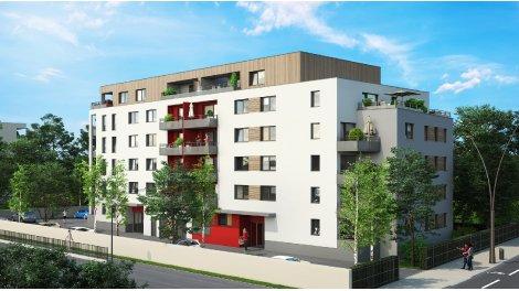 Appartement neuf Le Vingt éco-habitat à Metz