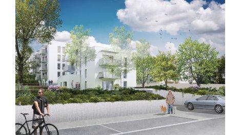 Appartement neuf Green Hill éco-habitat à Feyzin