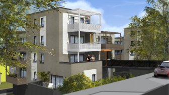 Appartements neufs Les Terrasses du Parc éco-habitat à Montigny-Lès-Metz