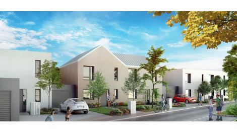 Maisons neuves Les Augustins éco-habitat à Bischwiller