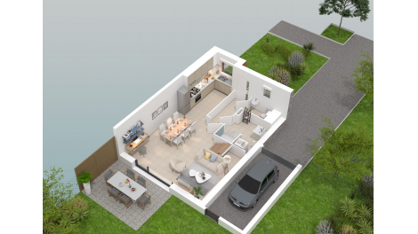 logement neuf à Pont-à-Marcq
