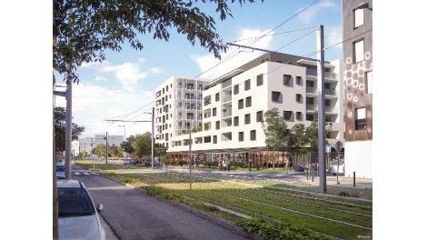 Appartement neuf Cassiopee éco-habitat à Bègles