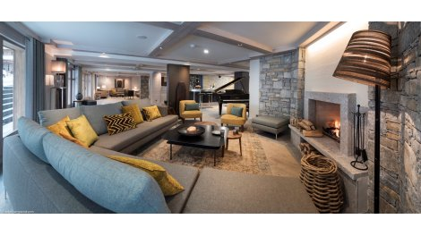 investissement immobilier neuf le roc des tours le grand bornand. Black Bedroom Furniture Sets. Home Design Ideas
