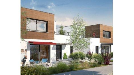 Maisons neuves Le Hameau de Bregille éco-habitat à Besançon
