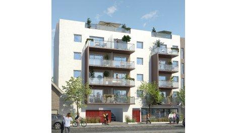 Appartement neuf Residence Paul Cabet investissement loi Pinel à Dijon