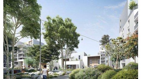 Appartement neuf Bx Berges éco-habitat à Bordeaux