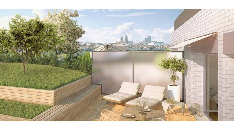 Appartement neuf Bordeaux Vision éco-habitat à Bordeaux