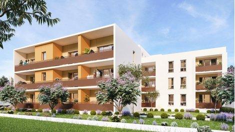 Appartement neuf Livia investissement loi Pinel à Castelnau-le-Lez