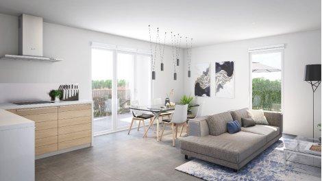 Appartement neuf Celaora éco-habitat à Montpellier