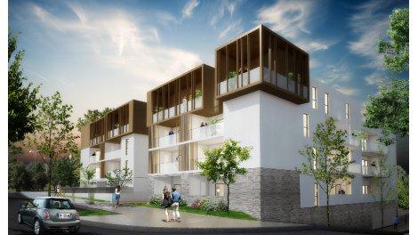 Appartement neuf Les Jardins de Bre éco-habitat à Montpellier