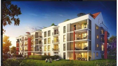 Appartement neuf Le Rubis investissement loi Pinel à Bonneville