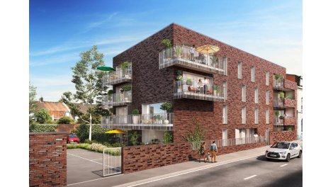 Appartements neufs Tourmaline investissement loi Pinel à Croix