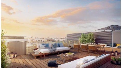 Appartement neuf Eco Quartier Issy Coeur de Ville investissement loi Pinel à Issy-les-Moulineaux