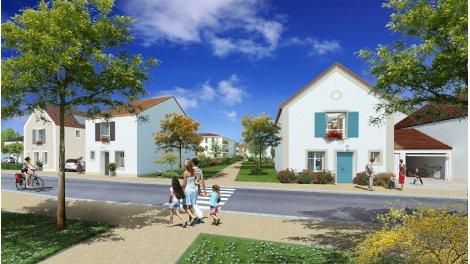 Maisons neuves Les Jardins du Chateau investissement loi Pinel à Guibeville