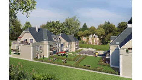 Appartement neuf Le Domaine du Castel à Epône investissement loi Pinel à Epone