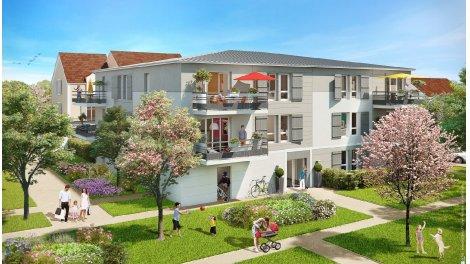 Appartement neuf Les Jardins de Chaumont éco-habitat à Saint-Soupplets