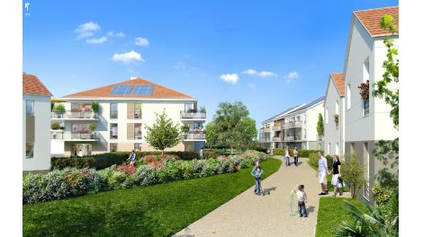 Appartements et maisons neuves La Closerie de l'Aqueduc à Mennecy