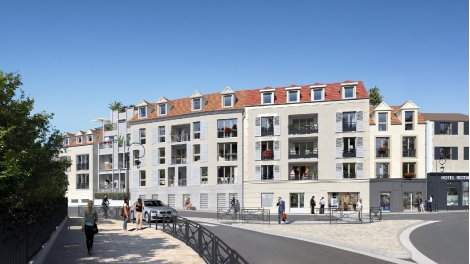 Appartement neuf Le Clos du Val a Osny investissement loi Pinel à Osny