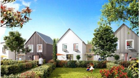 Maisons neuves Le Clos Chatel à Bruyeres le C. éco-habitat à Bruyères-le-Châtel