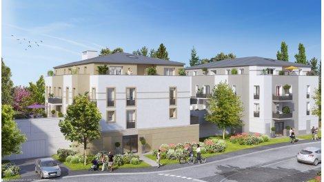 Appartement neuf Les Terrasses de Breuillet investissement loi Pinel à Breuillet