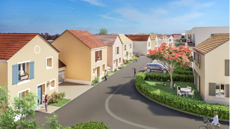 Maisons neuves Les Jardins de Mezieres investissement loi Pinel à Mézières-sur-Seine