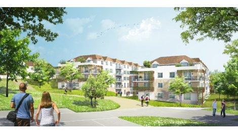 Appartement neuf L'Ecrin a Villevaude investissement loi Pinel à Villevaude