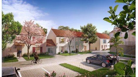 Appartements et maisons neuves Le Domaine de Mons investissement loi Pinel à Athis-Mons