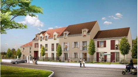 Appartements neufs Le Clos Nicolas a Baillet-en-Fce éco-habitat à Baillet-en-France