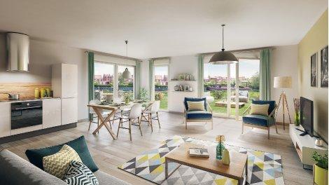 Appartements neufs Rive&sens investissement loi Pinel à Quesnoy-sur-Deule