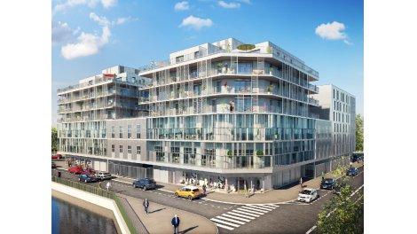 Appartement neuf Reflets éco-habitat à Amiens