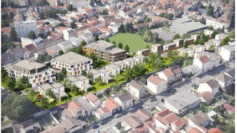 Appartement neuf Plein r éco-habitat à Reims