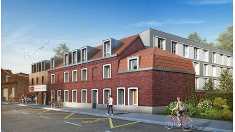 Appartement neuf Residence Time à Villeneuve-d'Ascq