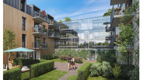 Appartement neuf Greenhouse investissement loi Pinel à Chantilly