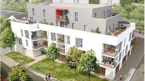 Appartements neufs Ka'Lys investissement loi Pinel à La Riche