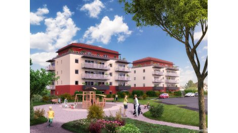 Appartement neuf Tendanciel investissement loi Pinel à Ornex