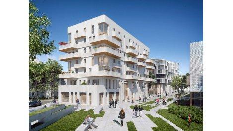 Appartement neuf Villa Lumea investissement loi Pinel à Romainville