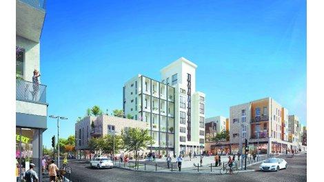 Appartement neuf Villapollonia Quartier Gare investissement loi Pinel à Louvres