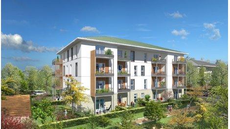 Appartement neuf Nature en Seine investissement loi Pinel à Mantes-la-Jolie