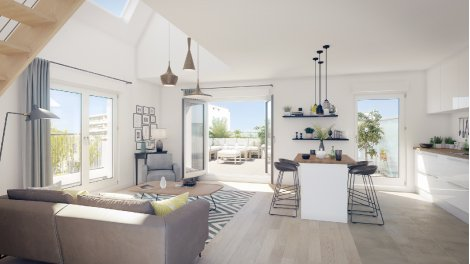 Appartement neuf Citea investissement loi Pinel à Poissy