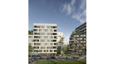 Appartement neuf Effervescence investissement loi Pinel à Saint-Denis