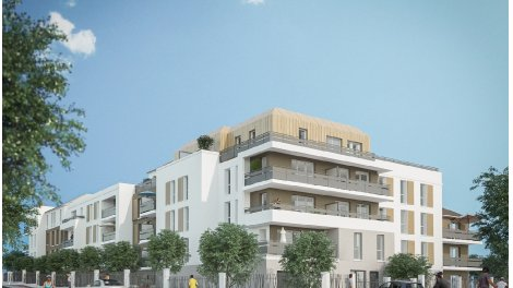 Appartement neuf Carre Aubepines investissement loi Pinel à Livry-Gargan