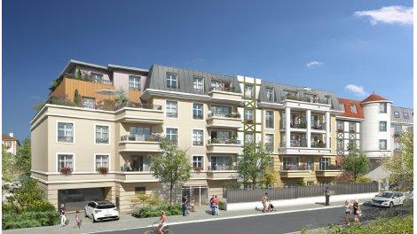 Appartement neuf Harmonie investissement loi Pinel à Franconville