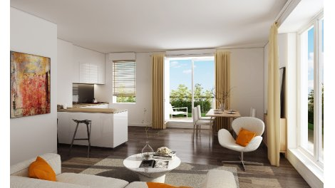 Appartement neuf Cadence éco-habitat à Saint-Denis