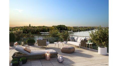 Appartement neuf Green Dialog investissement loi Pinel à Viry-Châtillon