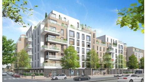 Appartement neuf Entre Parentheses investissement loi Pinel à Les Pavillons sous Bois