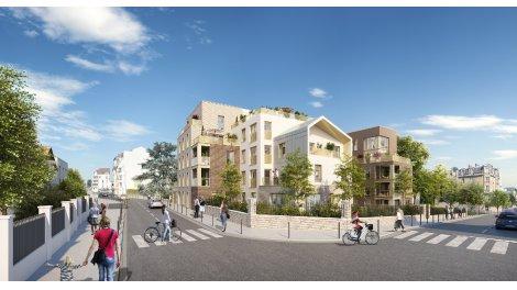 Appartement neuf Enghien Malleville éco-habitat à Enghien-les-Bains